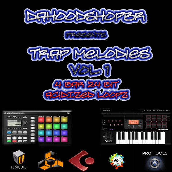TRAP LEAD MELODIES VOL 1